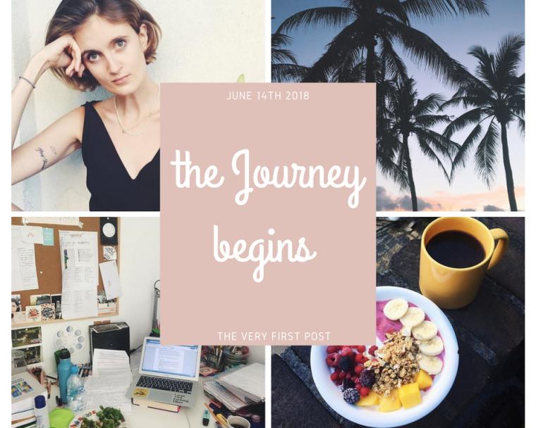 Tthe journey begins — kopia